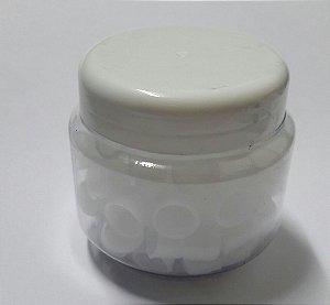 Pote de Batoques - Branco