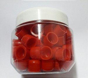 Pote de Batoques - Vermelho