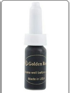 Pigmento Golden Rose - Preto
