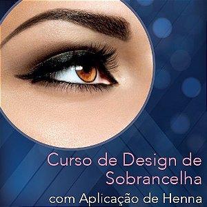 Curso de Design de Sobrancelha com Aplicação Henna