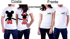Camiseta para Casal (Couple T Shirts) - Estampas variadas