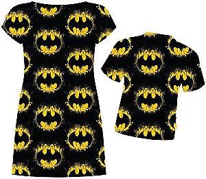Kit Temático Família Batman - Fundo Preto -  Tal Pai Tal Mãe Tal Filho