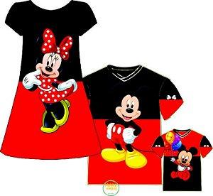 Kit Família Mickey