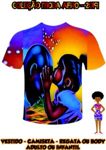 Camiseta Estilo Negro - Beijo Paterno