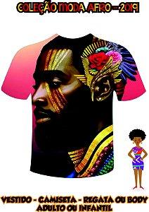 Camiseta Estilo Negro - Representatividade Negra