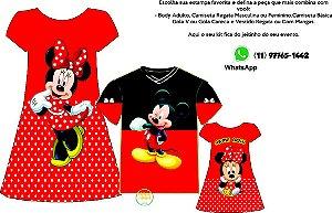 Kit Família Minnie