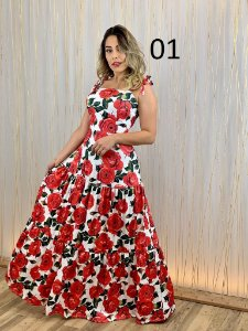 Vestido Lorena - Escolha sua esampa