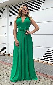 Vestido Multiuso Verde Bandeira