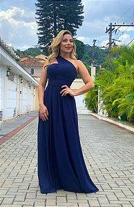 Vestido Multiuso Azul Marinho