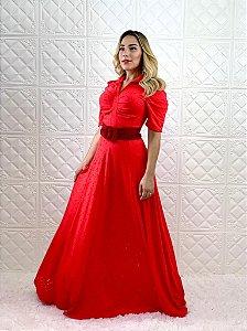 Vestido Heloísa Vermelho