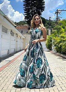 Vestido Raiza -Floral Verde