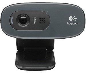WEBCAM LOGITECH C270 HD 720P 3MP - 960-000947