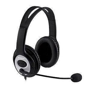 Headset Microsoft Life Chat LX 3000 Preto - JUG-00013