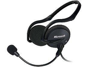 Headset Microsoft Life Chat LX 2000 Preto - 2AA-00008