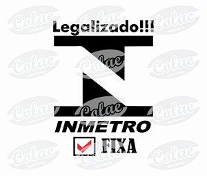 Legalizado!!! Inmetro Fixa! ( 11 x 8 )