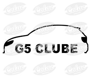 G5 Clube ( 12 x 4 cm )