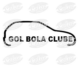 Gol bola clube ( 15 x 5 cm )