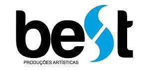 Adesivo Best Produções Artísticas (Preto)