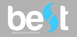 Adesivo Best Produções Artísticas (Branco)