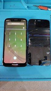 Troca de tela em Motorola Moto G7 Play XT1952
