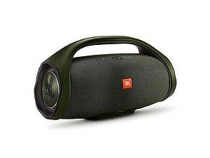 Caixa Bluetooth JBL Boombox 60w Preta, P2, Estéreo, Bateria Recarregável de 20.000 mAh, Resistente à água, Autonomia para 24h