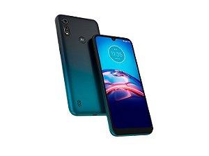 Smartphone Motorola Moto E6S XT2053 Azul Navy, 32 GB PAJD0000BR