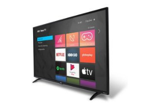 "Smart TV AOC 32"" LED HD 32S5195/78 ROKU, HDMI, USB, Conexão Wi-Fi"
