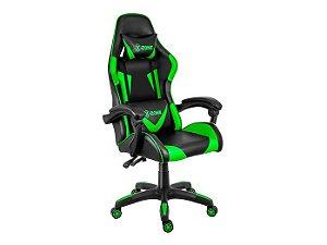 Cadeira Gamer Xzone Premium CGR-01, Almofada, Encosto Reclinável, Ajuste de altura e base Giratória