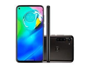 "Smartphone Motorola Moto G8 Power, XT2041, Android 10.0, Dual Chip, Câmera Traseira 16 MP + 8 MP + 8 MP + 2 MP, Frontal 16 MP, 6.4"", 64GB, RAM 4GB, Rede 4G Preto Titanium PAHE0001BR"