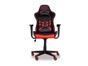 Cadeira Gamer Dazz Prime-X 2D Preto / Vermelho