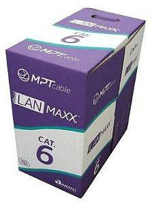 CABO UTP 4P X 23 AWG CAT. 6 ***CMX*** (CAIXA C/ 305M) - (Imagens ilustrativas)