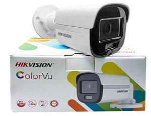 CAMERA COLORVU BULLET FULL HD 1080P 4-EM-1 - DS-2CE10DF0T-PF(2.8MM) (Imagens ilustrativas)