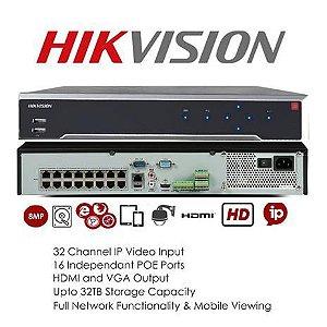 NVR 32CH IP, 4K, H265+ - DS-7732NI-K4 (Imagens ilustrativas)