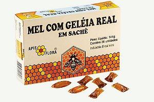 Mel com Geleia Real Sachê 144g