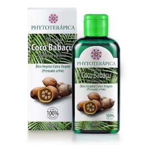 ÓLEO VEGETAL DE COCO BABAÇU - 60ML-Phytoterapica