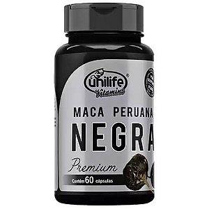 Maca Peruana Negra Premium (60 caps) Unilife Vitamins