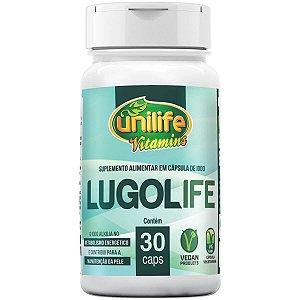 Lugolife Iodo em Cápsulas 450mg 30 Cápsulas - Unilife