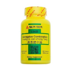 HUANG QI JIAN ZHONG TANG (ASTRAGALUS) SKL - 100 cáps