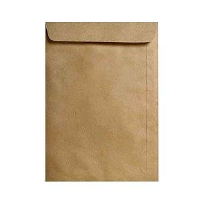 Envelope saco Kraft Natural 80g 176x240 500 Unid. Celucat