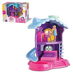 Casinha de Boneca Judy Quarto 219 - Samba Toys