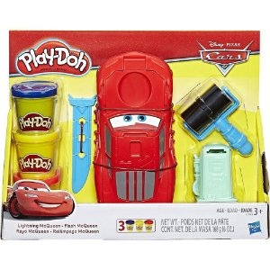 Conjunto Play-Doh Carros Mcqueen - Hasbro