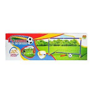 Brinquedo Futebol Gol de Craque - DM Toys