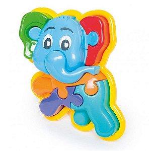 Brinquedo Animal Puzzle 3D Elefante 856 - Calesita