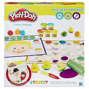 Massinha Play-Doh - Letras e Linguagem B3407 - Hasbro