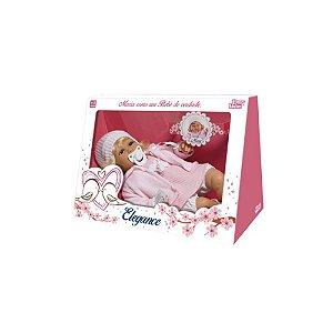 Boneca Bebê Baby Mary Elegance 1308 - Baby Brink