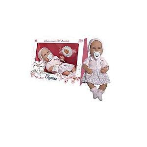 Brinquedo Boneca Bebê Reborn Elegance Sophie 1305  - Baby Brink