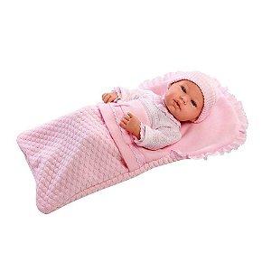 Brinquedo Boneca Bebê Reborn Anne Elegance 1302 - Baby Brink