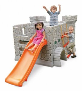 Playground Castelo Medieval Infantil Plástico 0970.9 - Xalingo