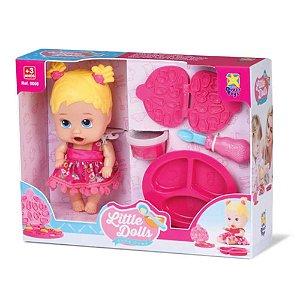 Boneca Little Dolls Come Come 8025 - Divertoys