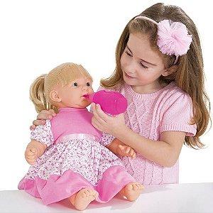 Boneca Baby Faz Xixi com Cabelo 206 - Super Toys